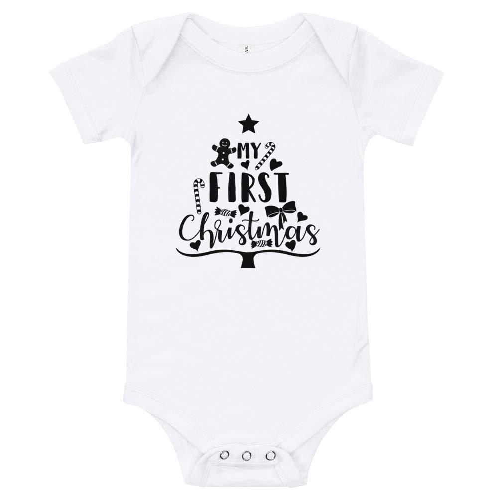 Cheeky Apparel My First Christmas Baby Onesie//T-Shirt Bodysuit