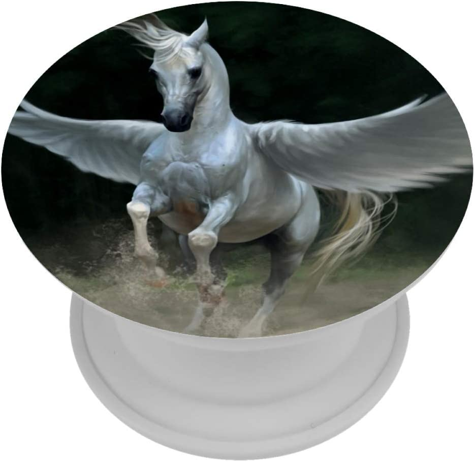 LORVIES - Soporte de alas de caballo para teléfono móvil, 1 pieza