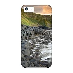 Hot Giants Causeway First Grade Tpu Phone Case For Iphone 5c Case Cover