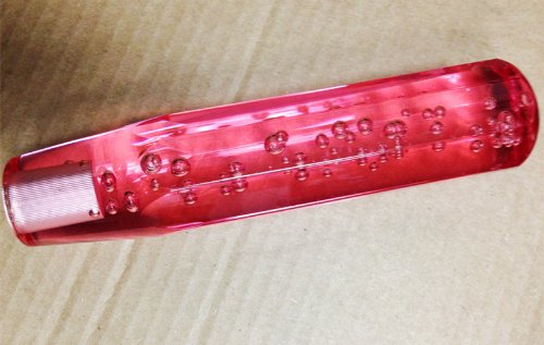 jdm bubble shift knob red - 2