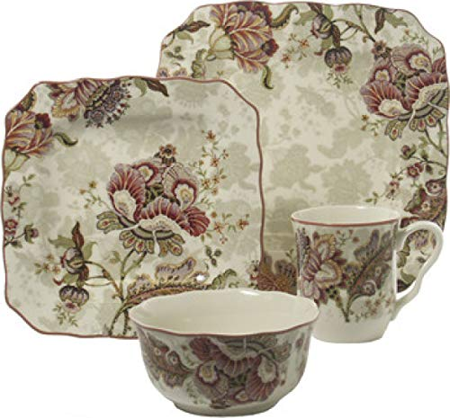 Gabrielle Cream 16 Piece Dinnerware Set