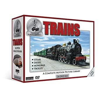 Amazon com: Trains: A Complete Motion Picture Library