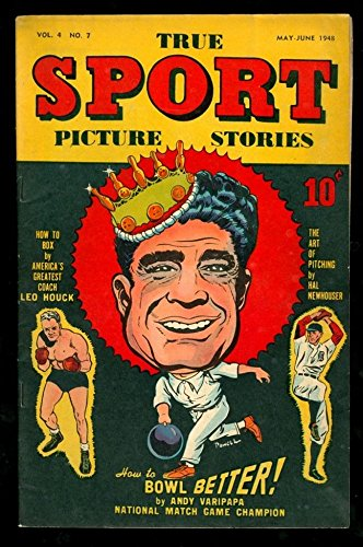 TRUE SPORT PICTURE STORIES 6v4 #7 6.5 FINE 1948 STREET SMITH BOWLING - Stores Street Fillmore