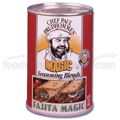 (Chef Paul Prudhommes Fajita Magic - 24 oz. can, 4 cans per case )
