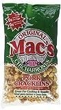 Mac's, Original Chicharrones, Pork Cracklins, 6.25 oz Bag (Pack of 4)
