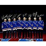 New York Rangers - 8 Legends Multi Signed 16x20 Photo -LE 500...Steiner COA