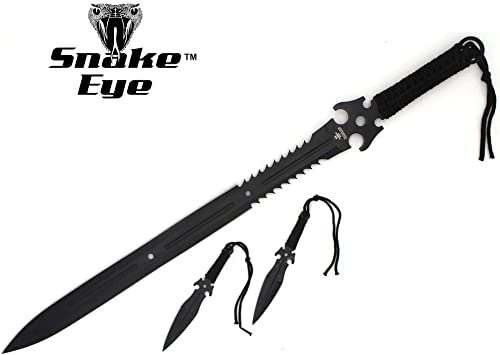 Amazon.com : Snake Eye Tactical Ninja Sword and Martial Arts ...