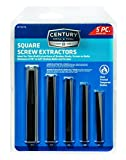 Century Drill and Tool Square Flute Screw Extractor Set