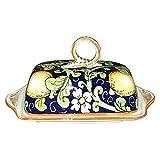 CERAMICHE D'ARTE PARRINI- Italian Ceramic Butter Dish H - Best Reviews Guide
