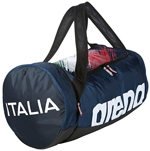 arena Fast Duffle Fin Italy Bag, Navy White, One Size by arena (Image #3)