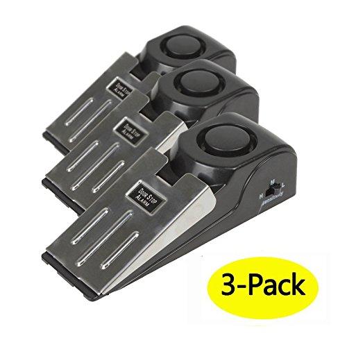 Mengshen 3-Pack Safety Wedge Door Stop
