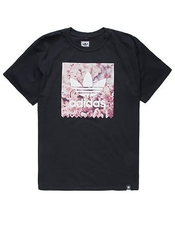 945893cd adidas Blackbird Cherry Blossom Black T-Shirt at Amazon Men's Clothing  store: