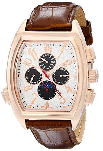Burgmeister Men's BM131-385 Analog Display Automatic Self Wind Brown Watch