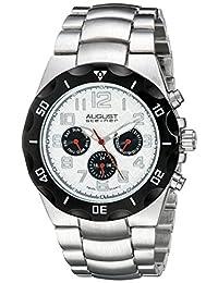 August Steiner Men's AS8161SS Analog Display Swiss Quartz Silver Watch
