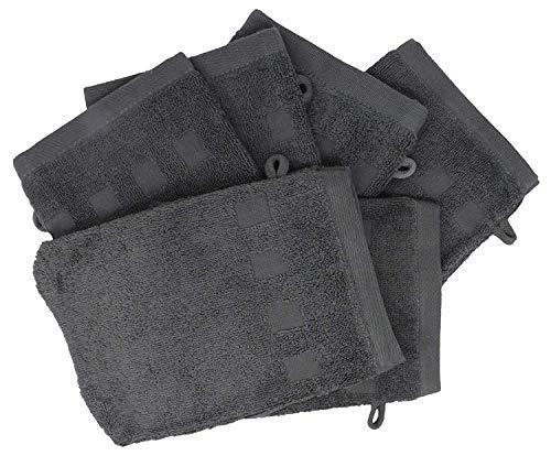 Bath Mitts European Washcloth Charcoal product image