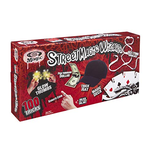 Ideal Magic Street Magic Wizard Toy, Assorted ()