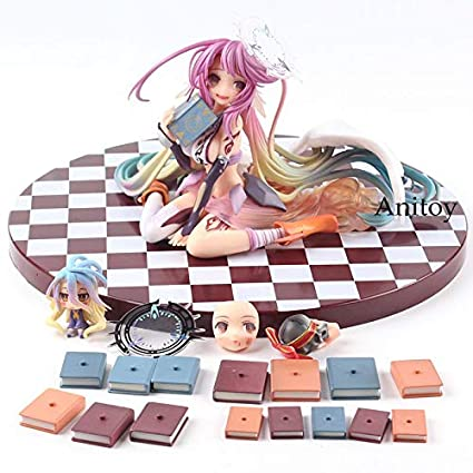 Amazon com: No Game No Life Jibril Figure 1/7 Scale PVC