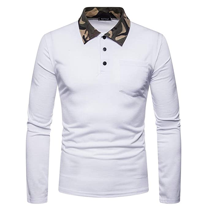 YanHoo Cuello Alto de Camuflaje Masculino de Bolsillo de Invierno de otoño para Hombre Nuevo Suéter de los Hombres Comprar Ropa Online Hombre: Amazon.es: ...