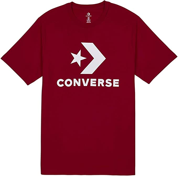 converse red shirt