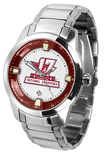 Alabama Crimson Tide 2017 National Champions Watch - Titan Steel Alabama Crimson Tide Ladies Watch