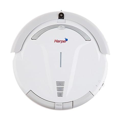 HARPER iClean 60 - Robot aspirador, 0.25 L, 23 W, color blanco