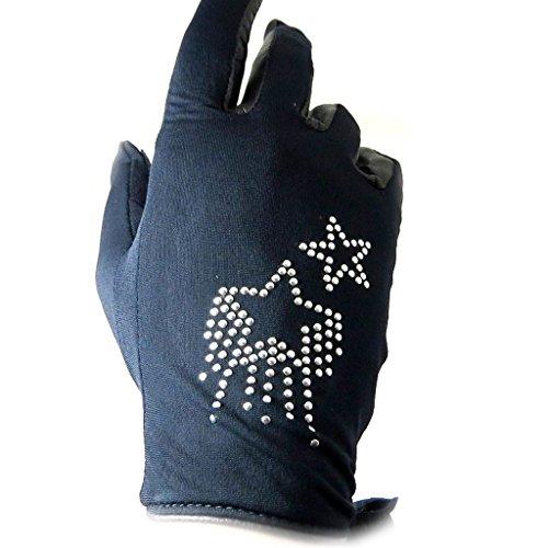 [リリーの宝 (Les Tresors De Lily)] (Stars コレクション) [L5392] 手袋 ブラック