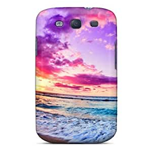 Tpu Fashionable Design Beach Rugged Case Cover For Galaxy S3 New