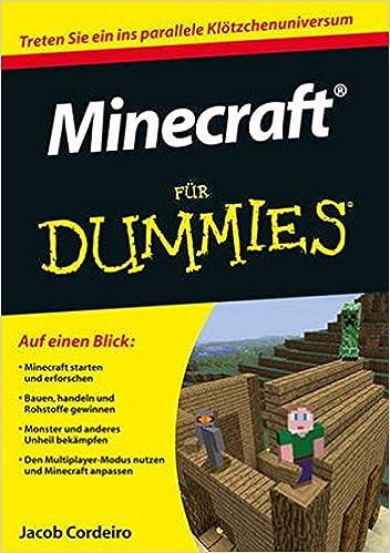 Minecraft Fur Dummies Jacob Cordeiro Books Amazonca - Hauser von minecraft