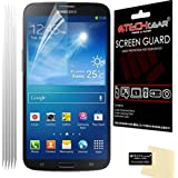 TECHGEAR® **PACK OF 5** - ANTI GLARE / MATTE Screen Protector Guards with cleaning cloth for SAMSUNG GALAXY MEGA 6.3 / I9200