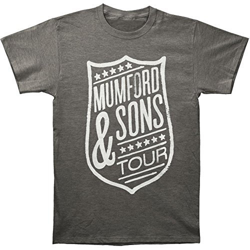 Hopeless Men/'s T-shirt Charcoal X-large Bravado Mumford /& Sons Short Sleeve