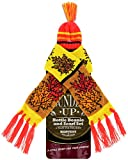 Fall Wine Bottle Beanie and Scarf Set - 4 Pack, One Size