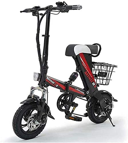 NOBRAND Inteligente Bicicleta Plegable eléctrica Adulto Mini ...