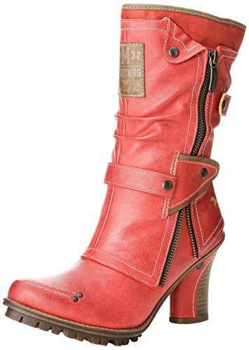 Stiefelette 5 Boots Womens Red Rot Mustang Fwq80zxz