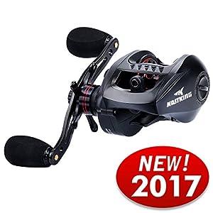 KastKing Speed Demon 9.3:1 Baitcasting Fishing Reel - World's Fastest Baitcaster - 12+1 Shielded Ball Bearings - Carbon Fiber Drag - Affordable - New for 2017!