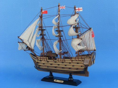 Buy wooden model boat flags