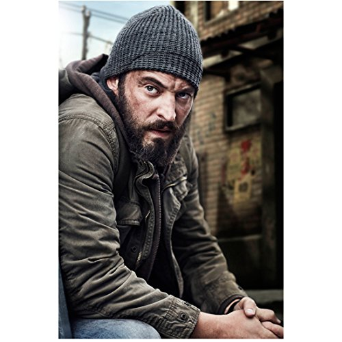 Charlie Hofheimer (8 inch by 10 inch) PHOTOGRAPH 24: Legacy (TV Series 2016 - ) from Waist Up Seated Partiality Forward Knit Hat kn