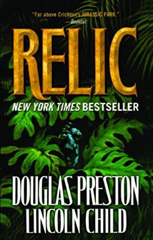 book cover of The Relic