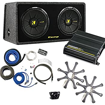 kicker bass package dual 10 comps in a. Black Bedroom Furniture Sets. Home Design Ideas