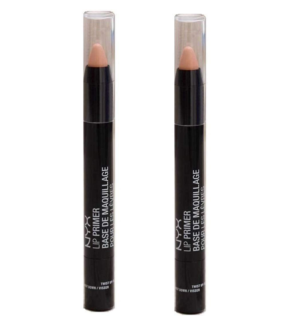 Pack of 2 NYX Lip Primer, Deep Nude LPR02