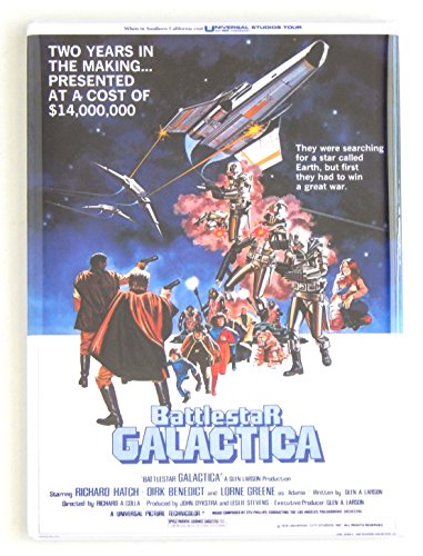 Battlestar Galactica Movie Poster Fridge Magnet (2 x 3 inches)