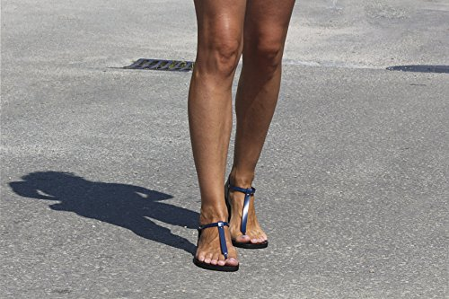 Sandali In Pelle Sexy Fatti A Mano Calpas, Sandali Infradito, Sandali Con Cinturino A Tacco Nudo, Sandali Unisex, Gay - Sensazioni