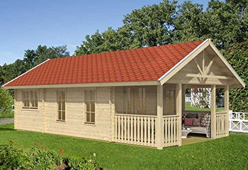 Skan Holz Blockbohlenhaus Toronto 4 70plus, 660 x 420 cm