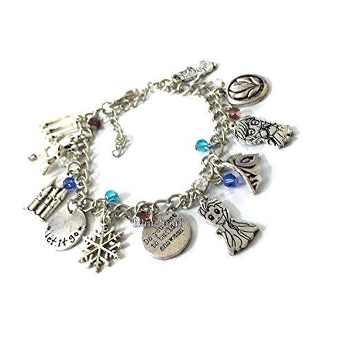 BlingSoul Elsa Frozen Bracelets for Girls - Anna Jewelry Frozen Gifts for Girls