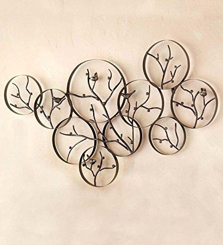 Branch Metal Wall Art (Metal Bird And Branch Wall Art)
