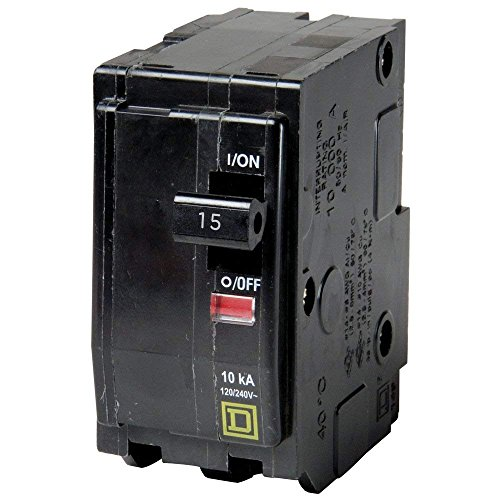 SQUARE D BY SCHNEIDER ELECTRIC QO215 MINIATURE CIRCUIT BREAKER 120/240V 15A