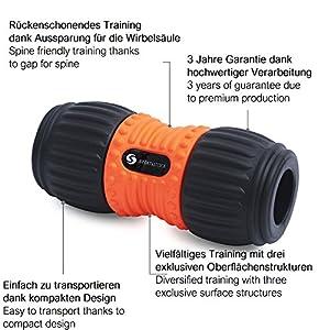 Schwarz-orange SchöN In Farbe Besorgt Blackroll Faszien-rolle Massage