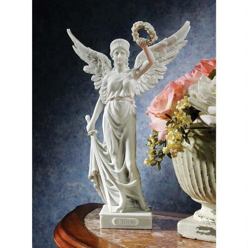 Winged Goddess Of Victory Statue Design Winged Goddess Saint (Victory Goddess)