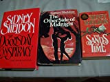 Sidney Sheldon 3 Volumes Set: The Doomsday Conspiracy (SIGNED), The Other Side of Midnight, The Sands of Time