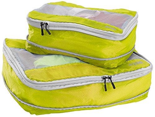 lewis-n-clark-electrolight-packing-cube-set-2-pack-neon-lemon-one-size