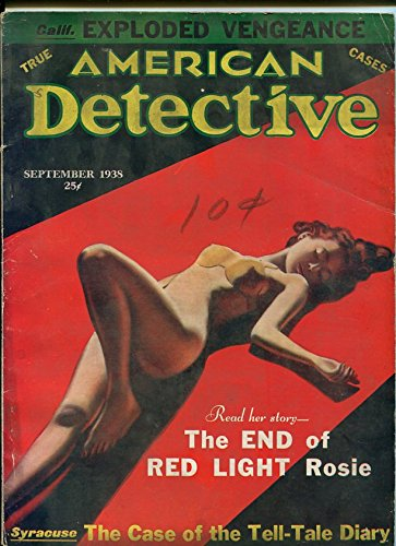 American Detective Magazine September 1938- Spicy cover- Florida Cash Crime - Covers Magazine Detective